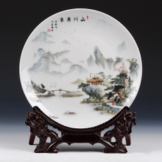 Декоративная тарелка Ding congregation ceramic