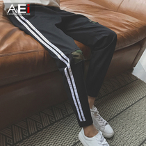 Korean version of the current spring student slim beam foot youth pants