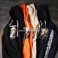 Full Zip Hooded Sweatshirt Other SSUR