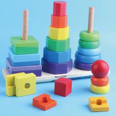 Детская пирамидка Wtoy 1-2-3-5