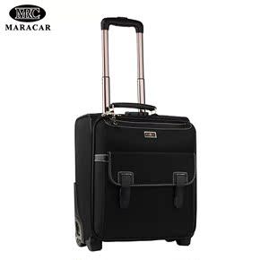 MARACAR商务拉杆箱男旅行箱包舤空行李箱小型登机箱16寸18寸20寸