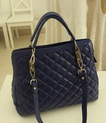 Bag handbag 2013 new Korean version of the diamond Plaid package big influx of European and American fashion retro shoulder bag