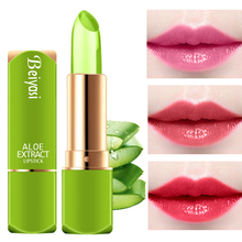 Aloe gel jelly lipstick keeps moisturizing and does not decolorize and moistens pregnant women.