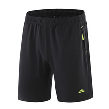 Sports shorts men's summer breathable men's running 5-point Shorts Large Size quick drying 5-point pants middle age big underpants
