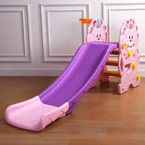 小型加厚滑梯室内儿童塑料滑梯组合家用宝宝上下可折叠滑滑梯玩具儿童滑滑梯