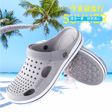 New style shoes with slip resistant soft sole and fashionable Baotou hole
