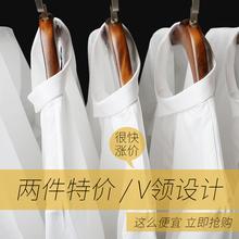 ❤职业白色衬衫女长袖韩范OL正装棉白衬衣秋装工作服2018春装新款