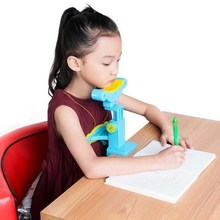 Sit protectors stand writing work artifact to remind primary school students to adjust their sitting posture and protect their eyes.