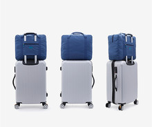 Portable foldable luggage bags, large capacity pull-rod bags, clothing bags, ready-to-produce bags