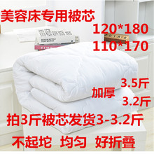 Beauty bed, quilt core, massage parlor, mattress 120x180, quilt cover, thickened, warm foot bath, shampoo, autumn and winter