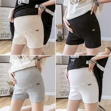Pregnant women's safety pants are out of sight in summer. Thin pure cotton bottomed short pants are fashionable for summer wear. Pregnancy summer