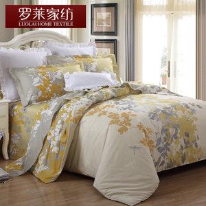 罗莱家纺纯棉被套床单四件套 秋冬季全棉床品1.5m床单人被子4件套四件套