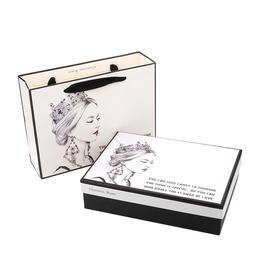 佰趣简约礼品盒韩版礼物包装盒 礼盒 情人节生日盒 化妆品盒