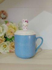 Сувенир Hello Kitty котенок фарфоровая детская