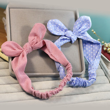 Sprout, Korean version, girl hair accessories, fabric, bow, knot, hairpin, children's hair and sweet hair.