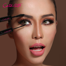 Cata.Q86 Jiaru is exquisite and rich, double head mascara is waterproof, dense, natural, long, curly and not dyed.
