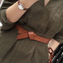 Women's belt decoration coat dress belt women simple and versatile Korean belt women with skirt