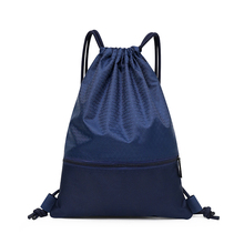 Nylon bag, shoulder bag, splash proof sports bag, student football basketball bag, large capacity and light customized bag