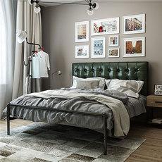 Кровать с металлическим каркасом Ann, United