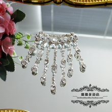 Bride wedding DIY finished drilling glass water drill accessories with accessories clothing decoration materials