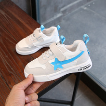 Children's shoes boys' little white shoes children's white shoes autumn 2018 students' white shoes boys' sports shoes girls' casual shoes