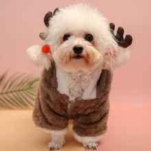 Dog clothes dog supplies autumn and winter pet four legged clothes puppies compared to bears