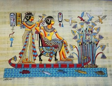 Египет Египет-происхождения импорта 3040 папирус, кора