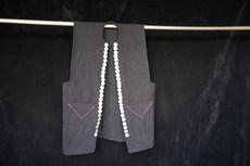 瑶族 手织麻 马甲 胸围90cm 衣长65cm 肩宽36cm