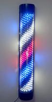 标志 广东省/led半圆形美发理发店发廊标志灯挂墙灯转灯彩灯80/120CM广东省