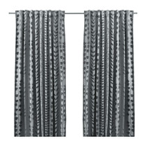 Purchasing IKEA IKEA excellent blackout curtains grey X2 145x250 cm this month specials
