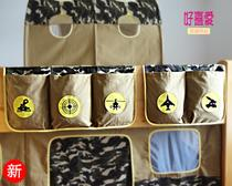 Childrens bed tents surrounding fittings Camo barrier bags of half-height bed bed bar storage bag without tents
