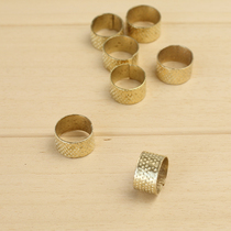Thimble DIY hand tools and old arrived in sewing thimble metal sleeve adjustable size