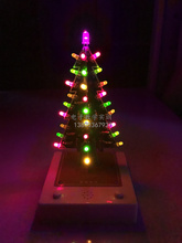 Christmas tree kit electronic components electronic production fun small production electronic practice equipment