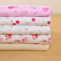 Pure cotton quilt bile bile encryption in gauze cloth quilt quilt cover fabric is interlining cloth bean bags