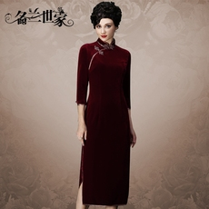 Cheongsam dress Name orchid family mqp01c2392