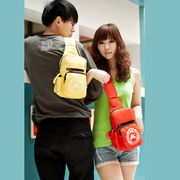 The new bag 2013 summer packet Korean mini multi-purpose shoulder diagonal bag chest bag handbag lovers