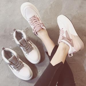 2017夏季新款运动鞋女韩版休闲鞋街拍百搭女鞋内增高学生小白鞋子小白鞋