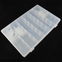 Mt36 grid element box electronic element part box IC chip box storage box can be split