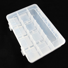 Mt24 grid 20 * 13.5 * 3.5cm element box parts box chip box IC box chip box