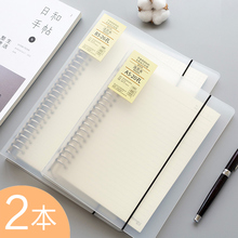 Cornell notebook A5 stationery disassemblable checker B5 loose-leaf coil mistake A4 grid book high efficiency case removable checker notebook woman