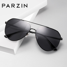 Parson polarized sunglasses, men's metal big frame, toad mirror, driving mirror, sunglasses, 2018 new products 8204