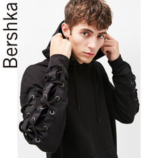 Full Zip Hooded Sweatshirt Bershka 02074127800/22