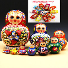 Россия Forest of art matryoshka crafts