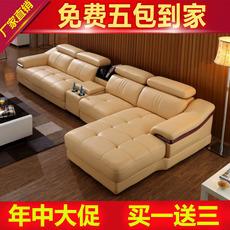 Кожаный диван Octavia