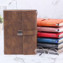 A5 business notebook Notepad, portable college student, big creativity, retro, small, fresh, thickened, detachable, loose leaf, simple.