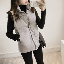 Autumn and winter Korean version: slim and thin, with down coat and vest inside