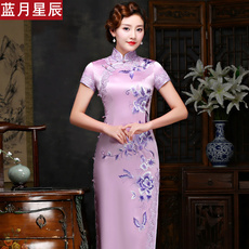 Cheongsam dress Lanyuexingchen ly00582 2017