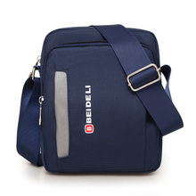 Men's Bag Messenger Bag Backpack single shoulder bag men's Korean version leisure waterproof Oxford cloth bag travel business satchel small.