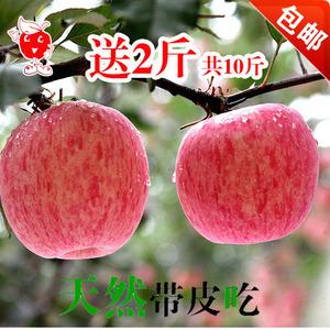 17年现摘新鲜水果正宗山东烟台栖霞红富士苹果10斤包邮孕妇吃的苹果新鲜