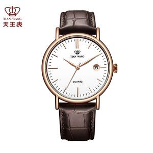天王表男表男士手表潮流情侣表 皮带腕表休闲时尚女士石英表女表女士手表